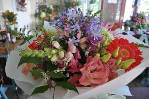 Beautiful Hand-Tied in Water Bouquet