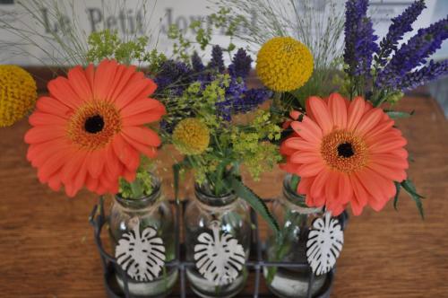 Cute triple mini vases