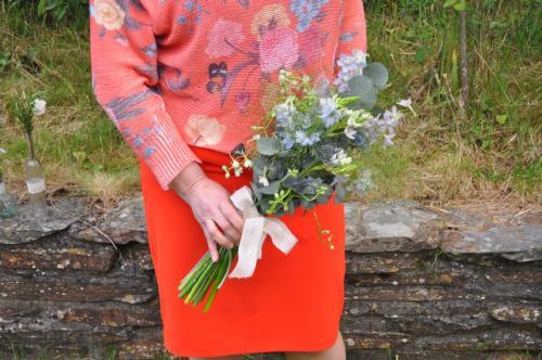 Amazing wedding bouquet
