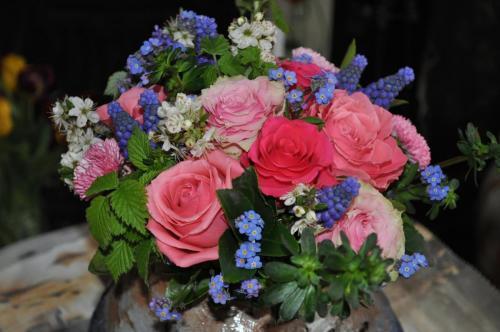 Hand-tied Wedding Flowers